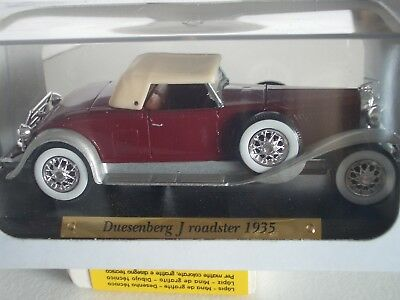 "Voiture D'exception Metal  1/43  "" Duesenberg J Roadster 1935 """