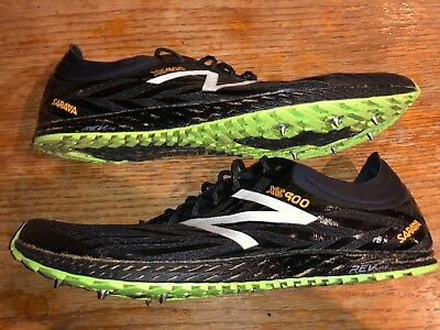 premium selection 734d4 6fdff NEW BALANCE MEN'S XC 900V2 Cross Country Running Shoes Spikes Size 10 Black