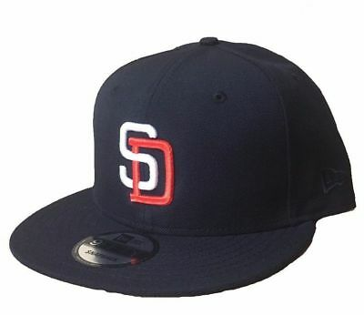 detailed look c3070 0be71 NewEra San Diego Padres Cooperstown Navy Blue Men s 9fifty Snapback Hat OSFA