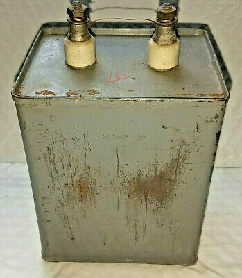 High Voltage Oil Filled Capacitor 10uF 2000V TESTED