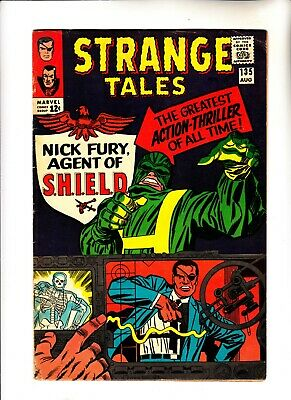 Strange Tales 135 1st SHIELD Nick Fury begins