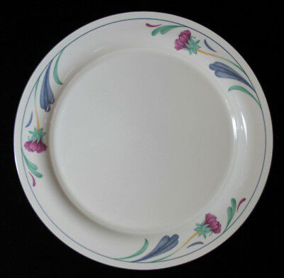 "Lenox Poppies on Blue Pattern Dinner Plate 10 3/4"" Floral Pattern"