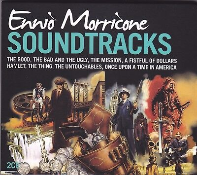 Ennio Morricone - Soundtracks (CD, 2 Disc Set) A Great Movie Compilation