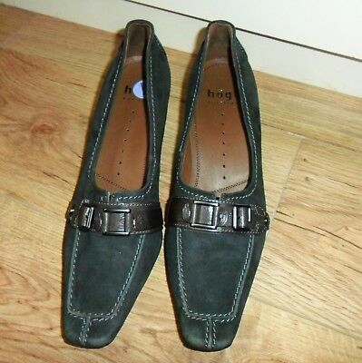 New HOGL Top Quality Soft Real Leather Court Shoes, size 6 / 39
