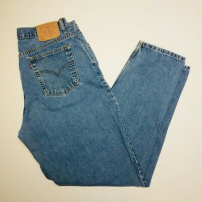 a8be9c60 Levis 550 Womens Size 18L High Rise Relaxed Fit Tapered Leg Mom Jeans