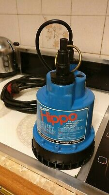 Clarke HIPPO Submersible Centrifugal Water Pump 240V 50Hz 2amp