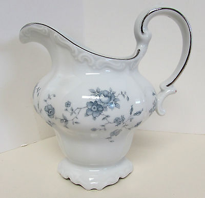 Vintage Johann Haviland Blue Garland Creamer Pitcher Bavaria Germany  A