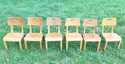 ONE CHAIR* Bentwood Thonet vintage original child's chair mid-century-modern MCM