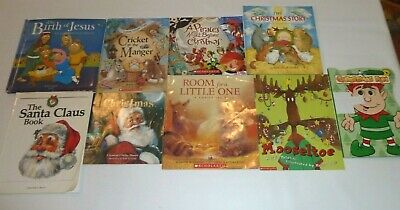 Children's Christmas Books Bundle 9 Kids Short Stories Various
