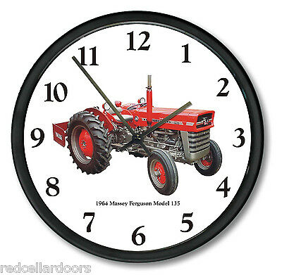 "New 1964 MASSEY FERGUSON 10/"" Round Thermometer Model 135  Farm Tractor Soil"
