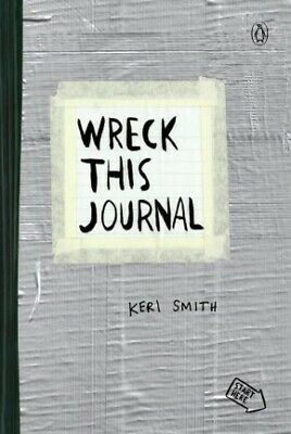 Wreck This Journal (Duct Tape) Expanded Ed. .. NEW