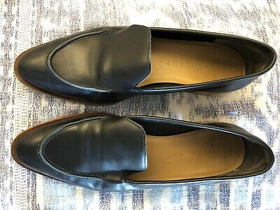 8fc54106a38 EVERLANE NAVY FLATS 7 B Modern Loafer Casual Good Cond n MSRP  168 ...