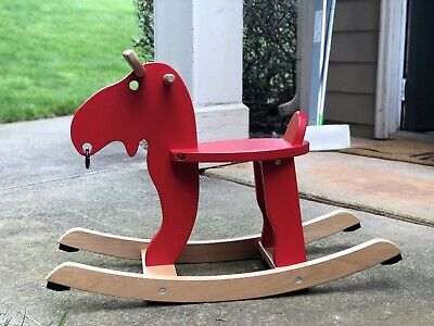 Ekorre Red Rocking Rocker Horse