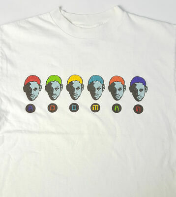 5f80c92ca7d VTG 90s Dennis Rodman Small Andy Warhol Spell Out Converse NBA All Star T  Shirt