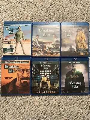 Breaking Bad: The Complete Series - Individual Seasons - Blu-ray - 16 Disc Set