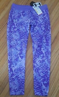 Girls youth Xl fitted heat gear  Under Armour Bottoms NWT
