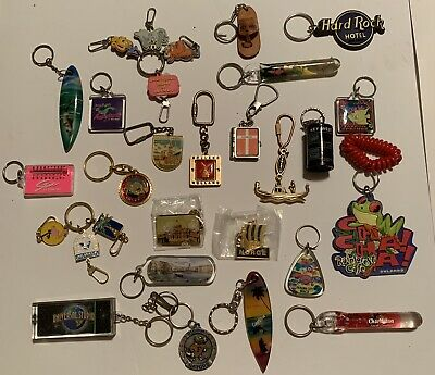 Keychain Lot From Around The World