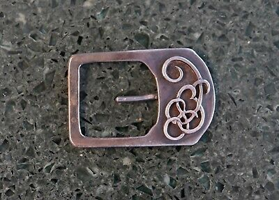 Beautiful Arts and Crafts movement vintage buckle 1920's Art Deco RARE COOL