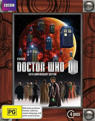 Doctor Who : 50th Anniversary Collector's Edition - Blu Ray Region B Free Shippi