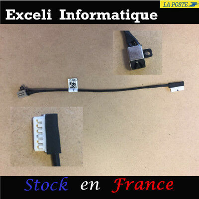 GinTai DC Power Jack Socket Cable Replacement for Dell Inspiron 15 5566 i5566 P51F P51F001 DC30100UH00