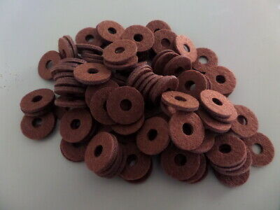 Vintage radio new  Brown knob felts  in lots of 100 !  8 Lots left only!