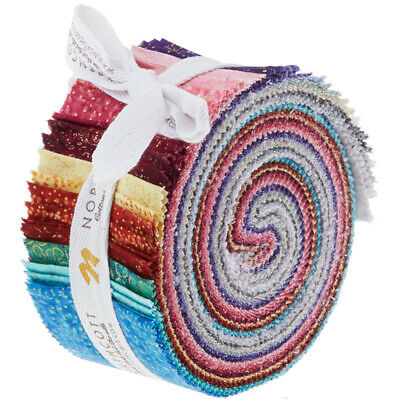 Quilting Fabric Jelly Roll - Shimmer Favorites -  Save $$$$