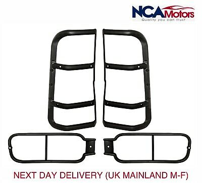 Land Rover Discovery 2 Rear Bumper and Rear Upper Light Guard Set STC50027