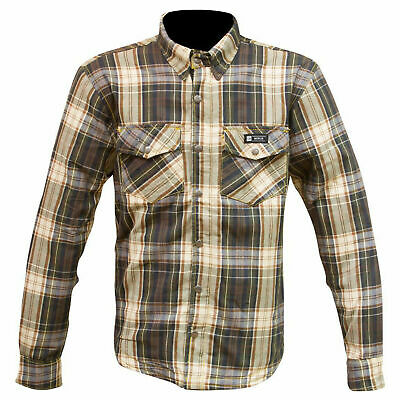 Merlin Axe Aramid Lined Overshirt - Brown Check - New for 2019