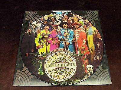 "Beatles ""Sgt. Pepper's Lonely Hearts Club Band"" Lp Picture Disc 1967/78 Us Press"