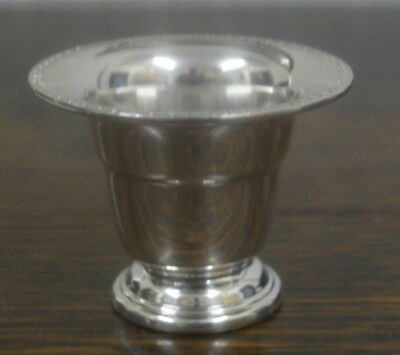 antique silver plate  VASE