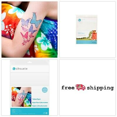 picture regarding Silhouette Printable Tattoo Paper named SILHOUETTE Short term PRINTABLE Tattoo Paper 1-Pack 2 Tattoo