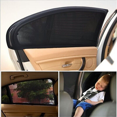 Large Car Sun Shade Cover Blind Mesh for Rear Side Window kids Max UV Protection