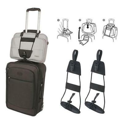 Travel Luggage Add A Bag Suitcase Adjustable Belt Easy Carry On Bungee Strap C