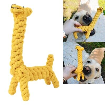 2 Styles Braided Cotton Rope Pet Dog Playing Toys Dogs Chews Bite Training kgjm