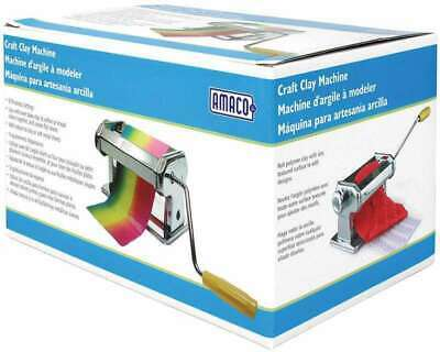 NEW UNOPENED PACKAGING!! AMACO Craft Polymer Clay/Soft Metal Machine
