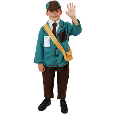 Boys 1940S Costume World War 2 Wartime Child 1930S Fancy Dress Ww2 Outfit