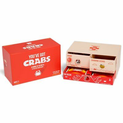 You've Got Crabs A Party Game From The Creators Of Exploding Kittens: Card Board