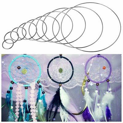 35-190mm Strong Metal Hoop Dream Catcher Dreamcatcher Ring Macrame Hoop DIY