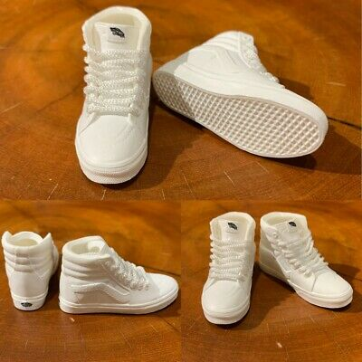 3D mini sneaker NMD white for 1:6 action figure DOLL boost M46-02 madxo