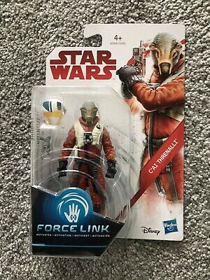 Star Wars Force Link C'ai Threnalli figure (The Last Jedi Resistance Pilot) MISB