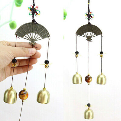 Vintage Metal Wind Chimes Anti Rust Bells Hanging Style Window Home Decor  6A