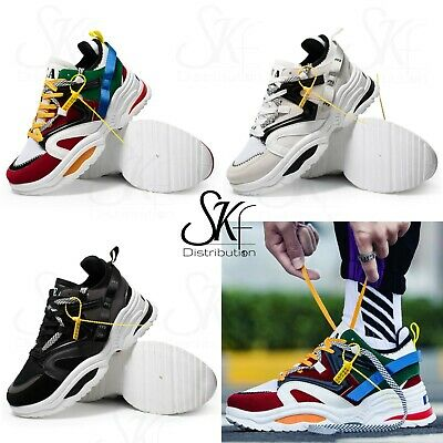 Triple Men Femme Tendance 2019 Ugly Baskets Chunky Sneakers Homme MVqzUpS