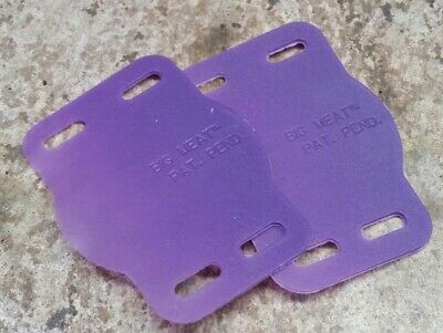 Pair Speedplay  Carbon Sole Protector Plates