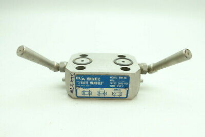 D/a MM-4B Minimatic Valve Manifold 1/2in Npt