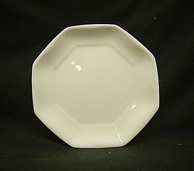 "Classic Novoctime White by Arcopal 7-3/8"" Salad Plate Octagonal No Trim France"