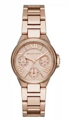 65efdc20ca91 NWT Michael Kors Women s Mini Camille Rose Gold Tone Stainless Watch MK6447   275