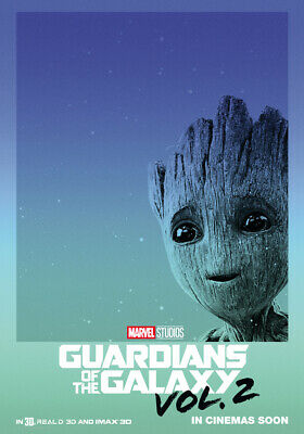 LAMINATED 2 POSTER PICTURE GUARDIANS OF THE GALAXY VOL 61X91CM