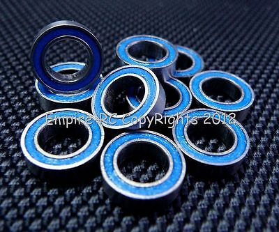 (10 PCS) MR106-2RS (6x10x3 mm) Rubber Sealed PRECISION Ball Bearing (BLUE)