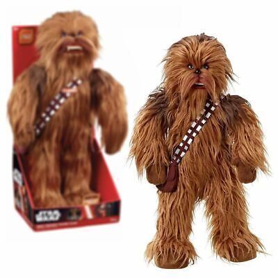"New Star Wars 24"" Chewbacca Mega Poseable Talking Plush Disney Official"