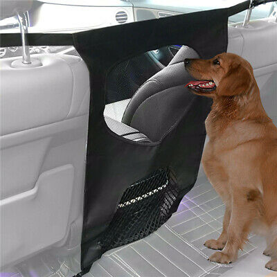 Dog Pet Car Truck SUV Van Console Front Back Travel Barrier Auto Pet Supplies 6A